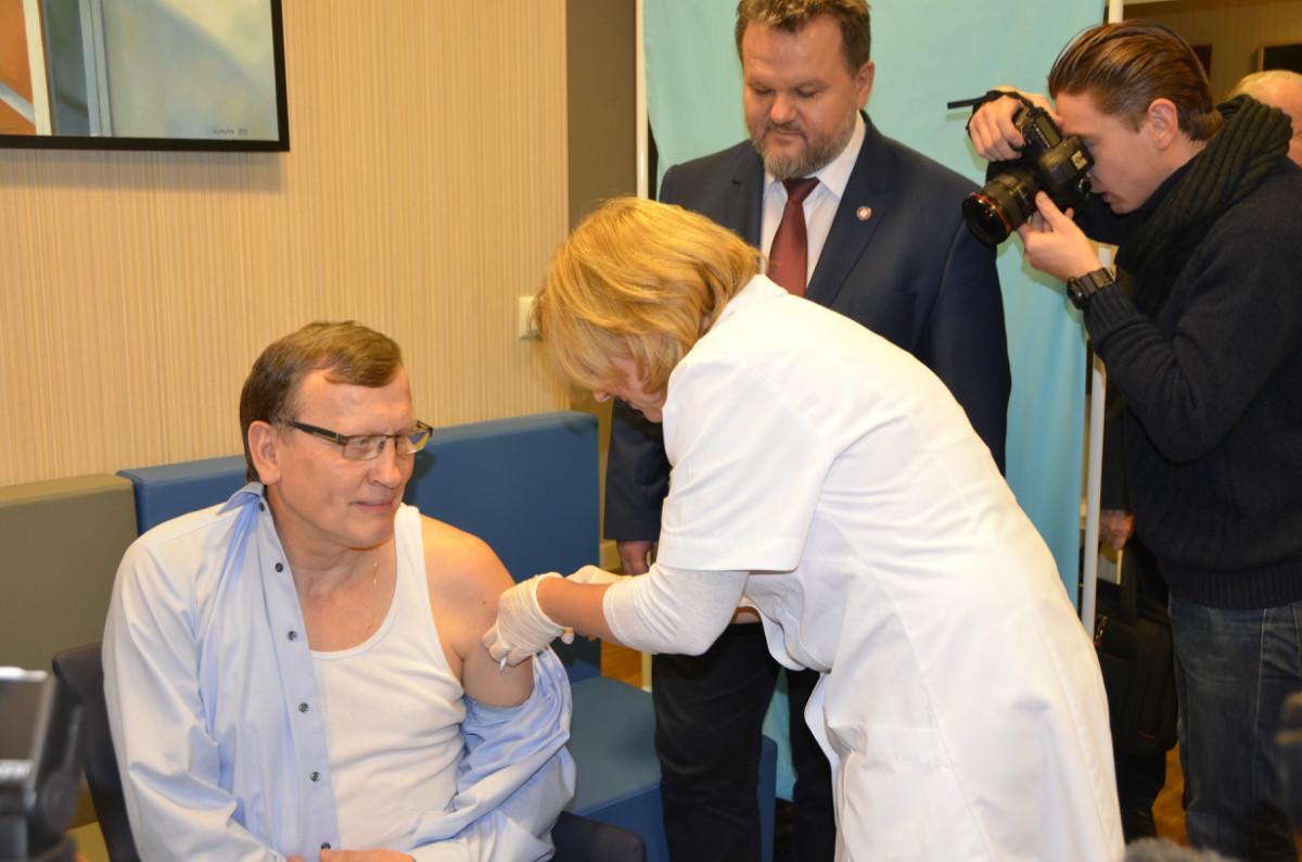 Przewodniczący Naczelnego Sądu Lekarskiego Wojciech Łącki